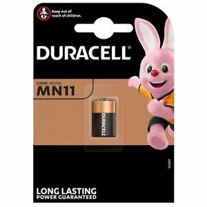 Pile MN11 Duracell A11 11A Alcaline 6V pile MN11 6 volts 33mAh