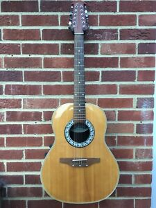 Ovation Celebrity CC-65 Made in Korea Late 1980s 12 String Electro Acoustic