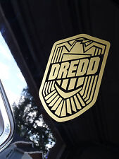 Dredd - Judge Dredd Badge - Vinyl Decal - Multiple Colors