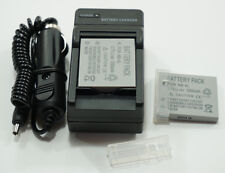2x NB-4L Battery + Charger for Canon PowerShot SD1100 SD1400 SD960 Camera