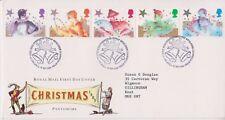 GB ROYAL MAIL FDC 1985 CHRISTMAS PANTOMIME STAMP SET BETHLEHEM PMK