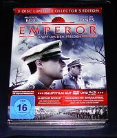 Emperor Combat autour De Den Paix 3 Disques Limitée Collector 'S Édition blu ray