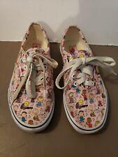 Van's Peanuts Charlie Brown Kids Shoe  Size 3 21cm