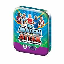 6 X MATCH ATTAX 2015/16 COLLECTOR TINS NEW & SEALED WITH LTD EDITION CARD
