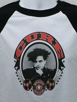 the CURE new wave T SHIRT robert smith goth emo rock All sizes S M L XL 80s