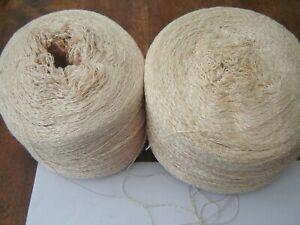 Job lot of very fine silky knitting machine/hand yarn lacemaking 1645g
