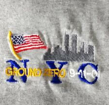 September 11, 2001 Ground Zero New York City NYC Memorial T Shirt Size Large