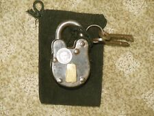 Houdini Seance 2012 Souvenir Keyed padlock with pouch