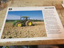 1986 JOHN DEERE 1850 Tractors Original Australian  Sales Leaflet