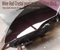 100g Wine Red Pearl Pigment Custom Auto Paint Nail Spray Gun Airbrushing Hot Rod