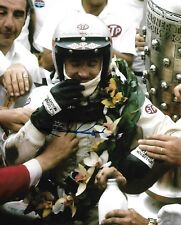MARIO ANDRETTI SIGNED 8X10 PHOTO INDY 500 1969 WINNER INDIANAPOLIS 2018 A
