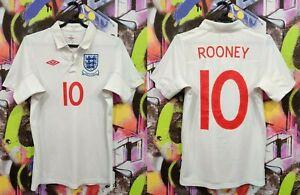 England National Football Team Wayne Rooney #10 Soccer Jersey Shirt Mens size XS