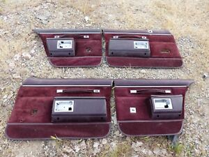 77 80 81 86 87 88 89 90 Oldsmobile ninety eight Chevrolet Impala 4 door panels