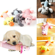 Funny Soft Pets Dog Puppy Toy Chew Play Squeaker Squeaky Cute Plush Sound Toys -