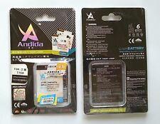 Batteria maggiorata originale ANDIDA 1800mAh x Samsung Galaxy W i8150