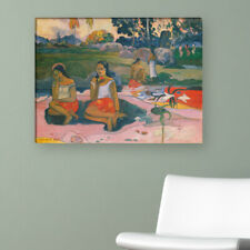 "WANDKINGS Leinwandbild Paul Gauguin - ""die wunderbare Quelle"""