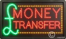 QUALITY FLASHING MONEY TRANSFER LED sign board new window shop sign