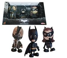 Hot Toys Batman Bane Cat Woman Cosbaby Set 3 Dark Knight Rises Mini Figure Toy