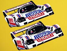 GROUP C 'LIQUI MOLY' Le Mans Porsche 956 962 retro vintage style stickers decals