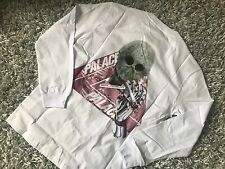 PALACE SKATEBOARDS SS17 SKELEDON MEDIUM WHITE LONGSLEEVE LS TEE M TRIFERG DROP 1