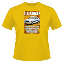 Mens Funny T-Shirt, Old Banger Escort, Ideal Gift or Christmas Present.