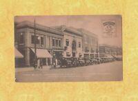 CT South Manchester 1923-29 antique postcard FARR BLOCK TRUST CO WATKINS CONN