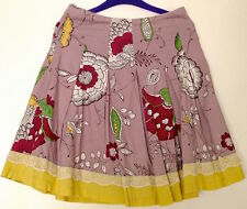 ♥ Skirt Circular Pleated Floral W28