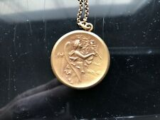 Victorian Gold Filled PHOEBUS APOLLO MUSIC Pendant/Necklace