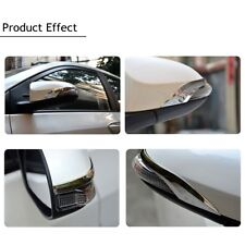 Chrome Side Door Rearview Mirror Cover Trim Strips For TOYOTA Corolla 2014-2016