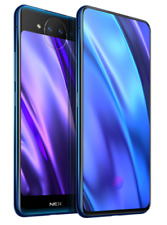 "VIVO NEX(dual screen ) Blue 6.39"" 10/128GB Snapdragon 845 Phone USA FREESHIP*"
