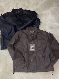 NWT Filson Aberdeen Work Jacket Waxed Cotton Men's Black Otter Green M XL USA