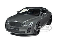 BENTLEY CONTINENTAL SUPERSPORTS GREY 1:24 DIECAST MODEL CAR BY WELLY 24018