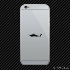 (2x) AH-64 Apache Cell Phone Sticker Mobile F4 monster helicopter attack ah64