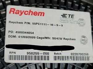 Raychem/TE 55PC1111-16-9-9 #16awg Shielded Dual XL-ETFE Hook-Up/Lead Wire /50ft