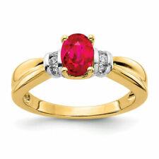 14k Two Tone Gold Diamond Ring Size 7