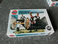 airfix 1/72 waterloo french artillery figures mib complete set free shipping
