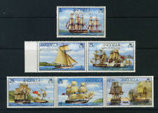 Mint Hinged Ships, Boats British Colony & Territory Stamps