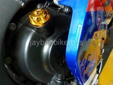 Llenado de aceite Cap Cnc Oro Yamaha R1 R6 Yzf750 Yzf600r Yzf1000r Fz6 Fz1 Fz8 r2b2