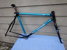 "20"" Vintage Raleigh Technium Peak Mountain Bike Frameset with Extras Old School"