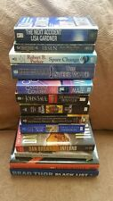 13 Exciting Novels for adults. (Lot of 13 Books)