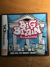 Big Brain Academy (Nintendo DS, 2006) CIB