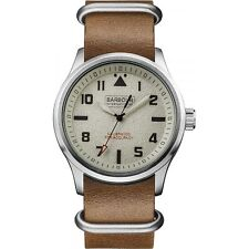 Barbour International BB052SLBR Bywell Mens Leather Watch