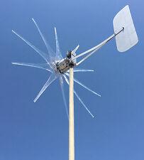 1100W LOW WIND GHOST TURBINE 48 VOLT DC 2 WIRE / 10 CLEAR wind turbine PROPS