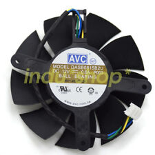 75mm Fan EVGA ZOTAC GTX 560 570Ti Video Card AVC DASB0815B2U