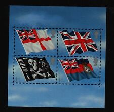 MS2206 FLAGS & ENSIGNS  MINIATURE  MINI SHEET 2001  MNH