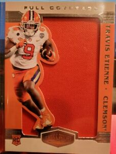 TRAVIS ETIENNE *RC* 2021 CHRONICLES - PLATES & PATCHES - JUMBO ORANGE PATCH🔥