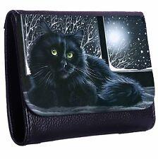 Cat On The Windowsill Tri-Fold Wallet w/ Button Pocket