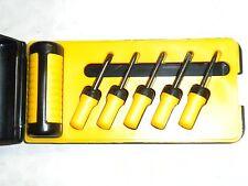 Lot of 2 Mini Screwdriver Set/ Sets 6 pcs philips & flat head NEW