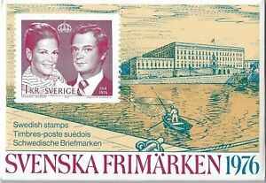 Sweden official year pack 1976 MNH. FACIT catalogue SEK 390. See pic!