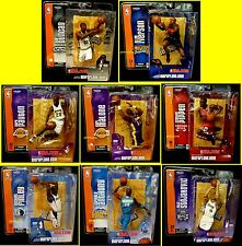McFarlane Sports NBA Basketball Series 6 Set of 8 Action Figures Duncan 2004 .